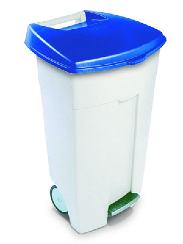 Collecteur à pédale Eco 106l - lot de 3 - Rubbermaid